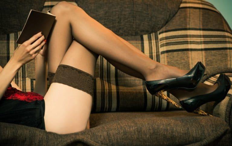 女性の綺麗な脚線美