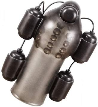 5個の亀頭ローター