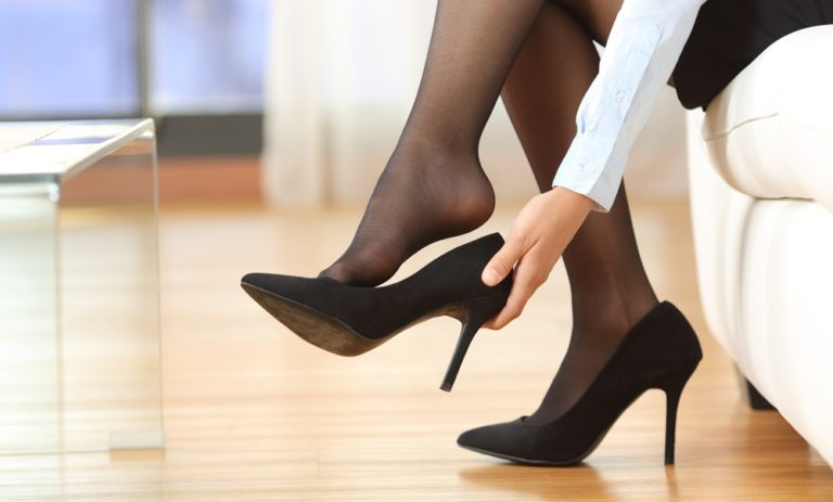 長時間履いた靴を楽しむ
