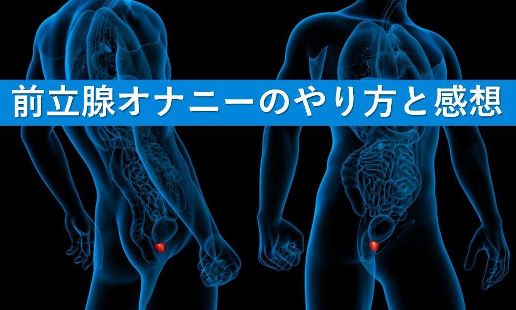 前立腺オナニー