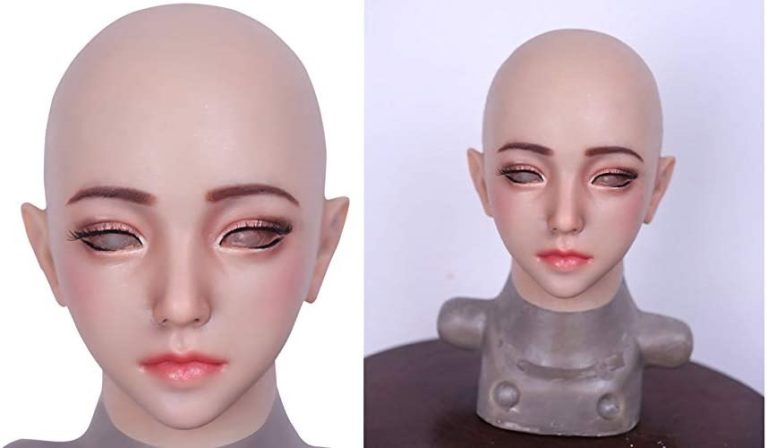 美人シリコン仮面