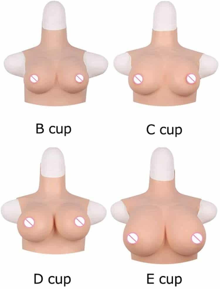 選べるバストスーツDカップのカップサイズ