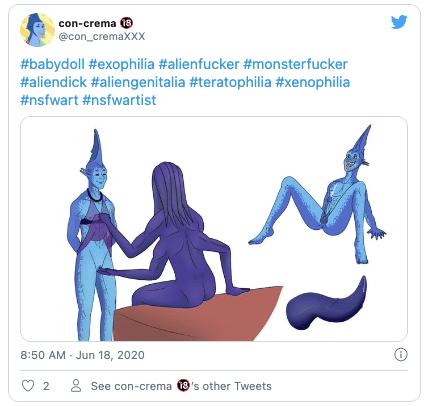 Twitterゼノフィリア1
