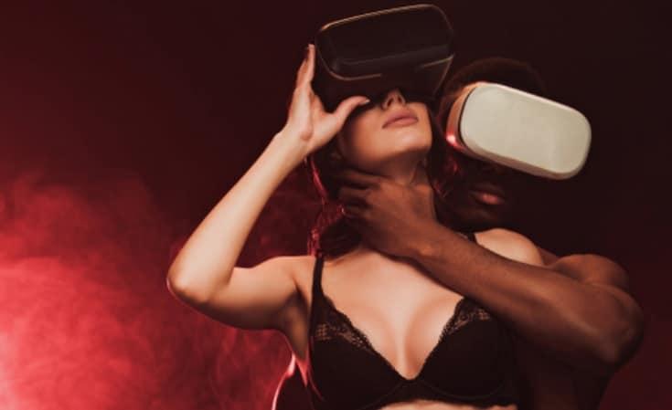 VRでオナニー