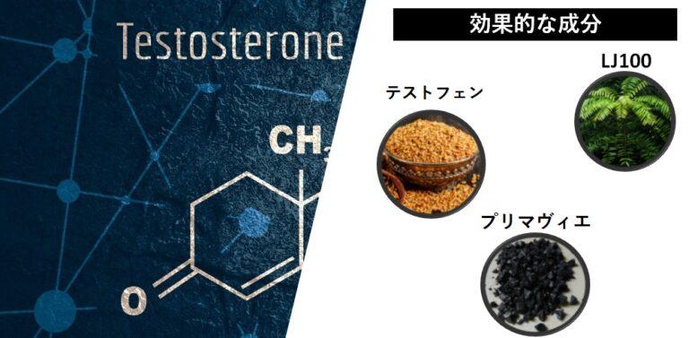テストステロン増強効果
