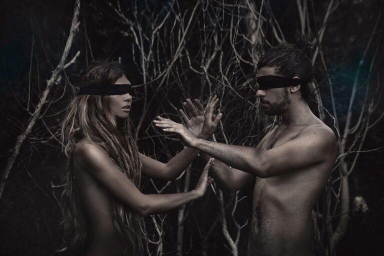 森の中でセックス