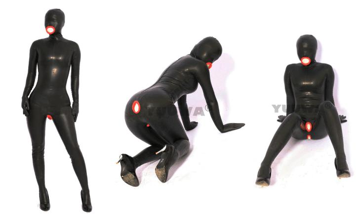 (YUUWA)ラテックスキャットスーツ