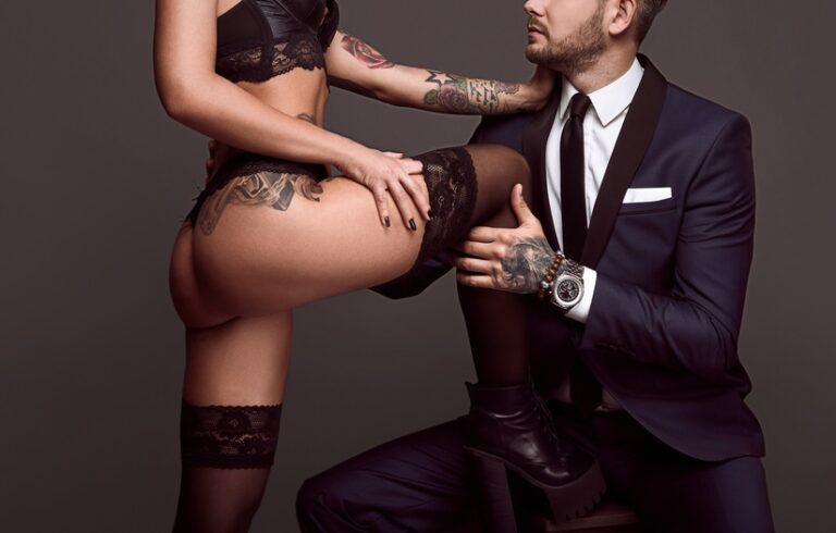 タトゥーを入れた女性と結婚