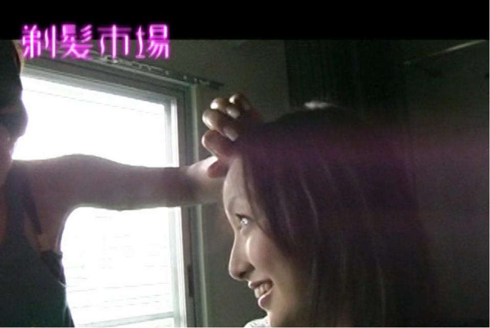 断髪・剃髪AV